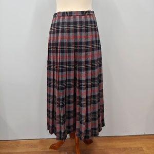 Vintage PENDLETON Hunting Macpherson Tartan Skirt